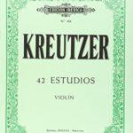 Kreutzer 42 Estudios Violin