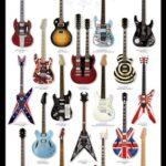 Poster Guitarras